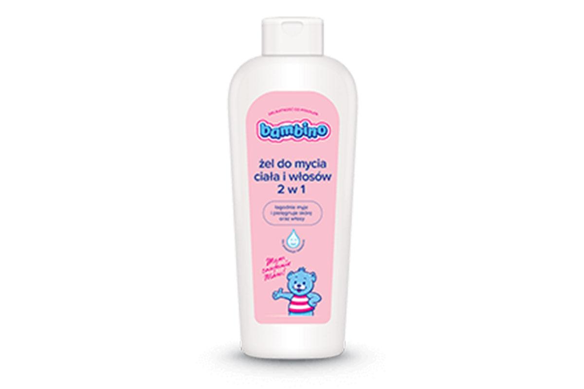 Bambino żel do mycia ciała i włosów dla dzieci