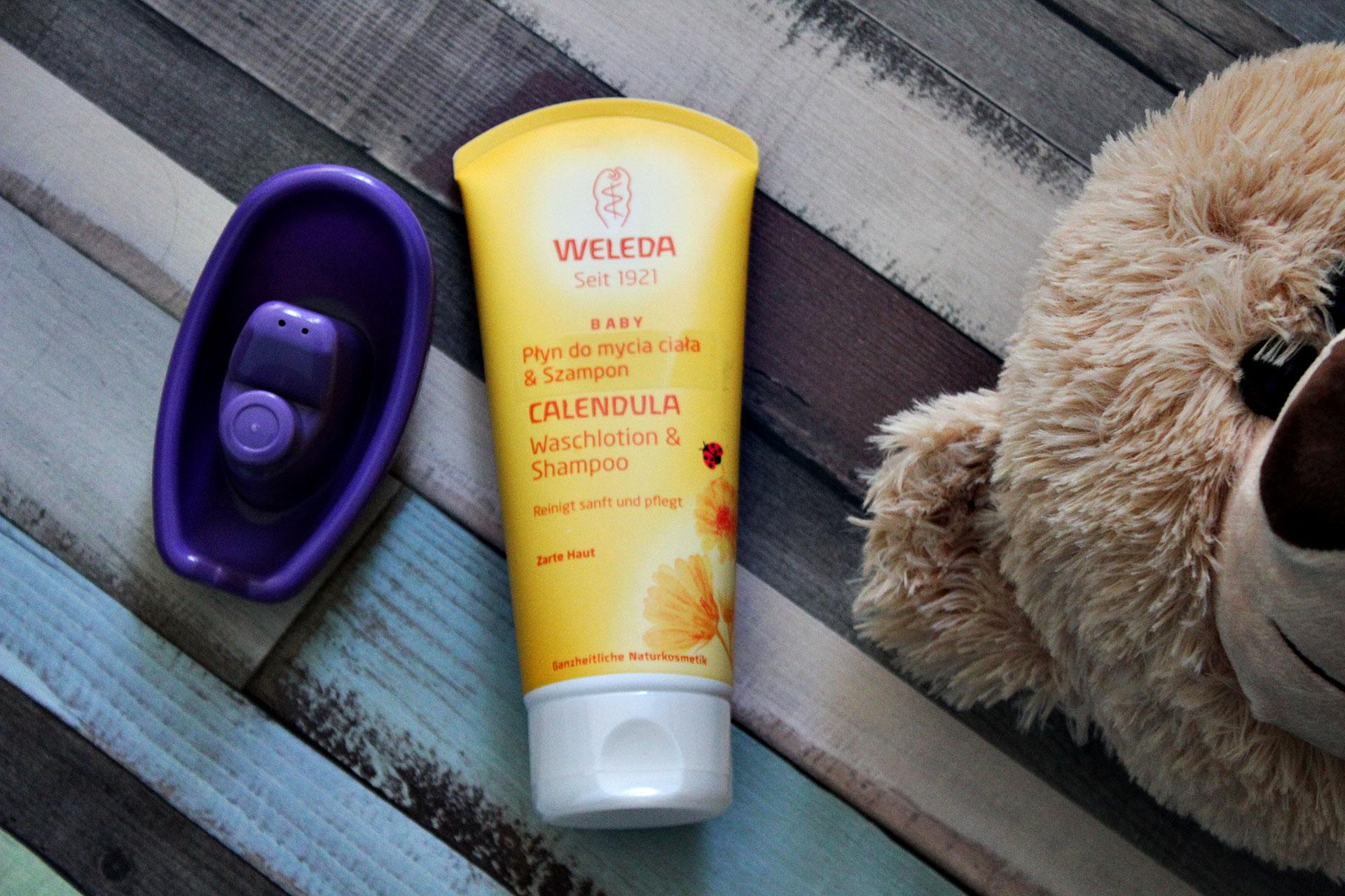 Weleda Mydło i szampon dla niemowląt z nagietkiem lekarskim